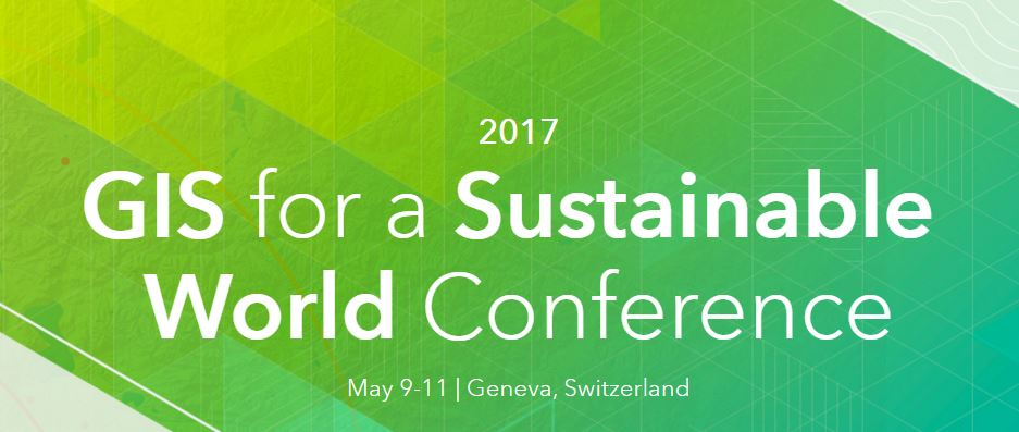 Esri GIS SustainableWorldConference2017